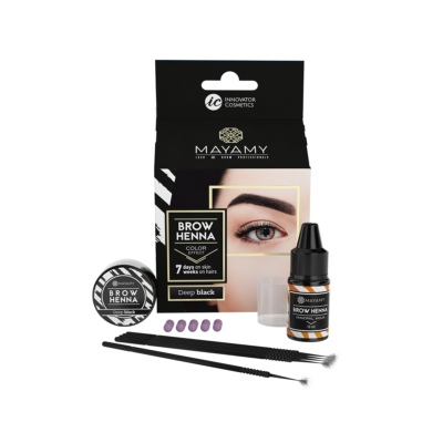 Brow Henna Home Set Deep Black