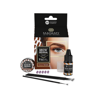 Brow Henna Home Set Classic Brown
