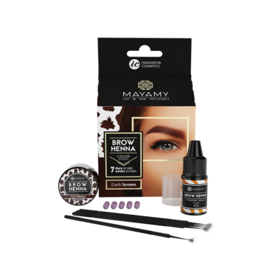 Brow Henna Home Set Dark Brown